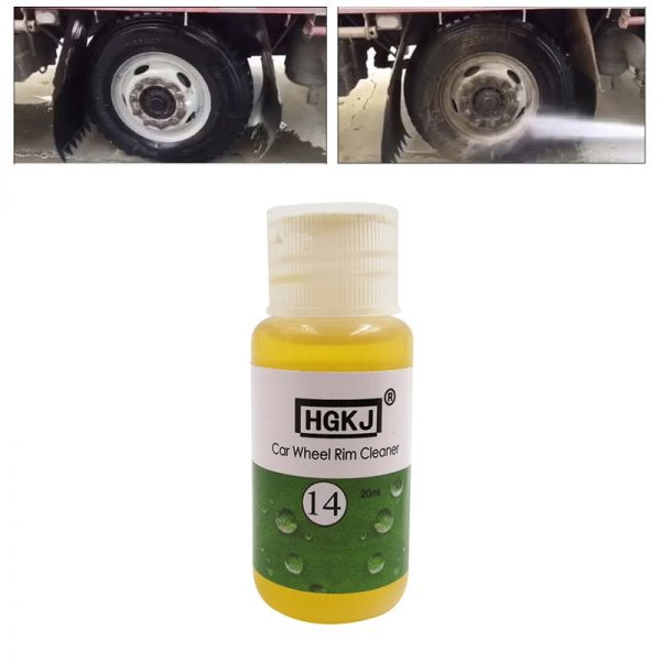 Rust Cleaner Car Wheel Stain Remover 4