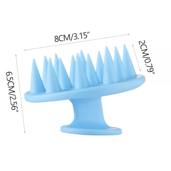 Scalp Scrubber Silicone Hair Cleaner 3