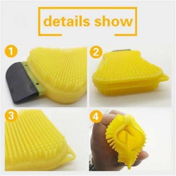 Silicone Dish Sponge 3 in 1 Cleaner 1