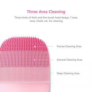 Silicone Facial Cleansing Brush Electric Cleanser