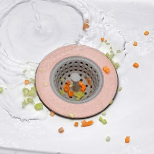 Sink Drain Cover Silicone Shower Filter