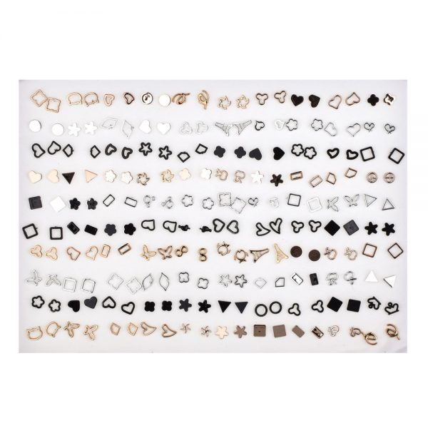 Small Earrings 100pairs Jewelry Set 1