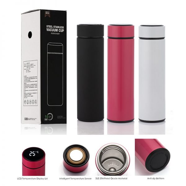 Smart Bottle Thermometer Vacuum Flask 2