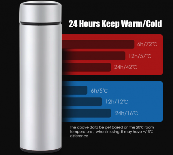Smart Bottle Thermometer Vacuum Flask 5