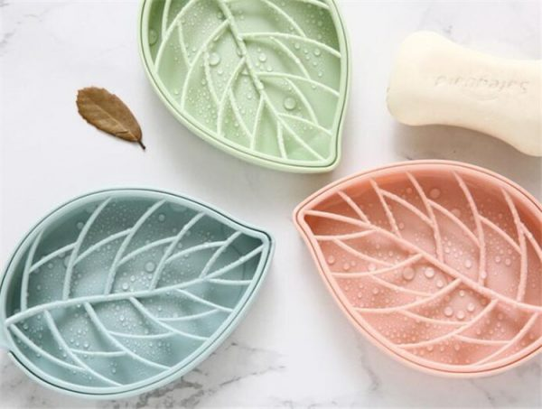 Soap Dish With Drain Creative Holder 1