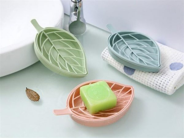 Soap Dish With Drain Creative Holder 2