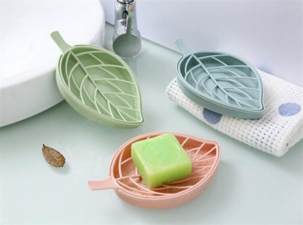 Soap Dish With Drain Creative Holder 4