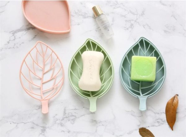 Soap Dish With Drain Creative Holder