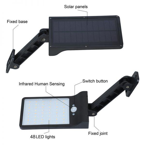 Solar Wall Light Motion Sensor 3