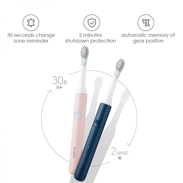 Sonic Electric Toothbrush Automatic Cleaner 2