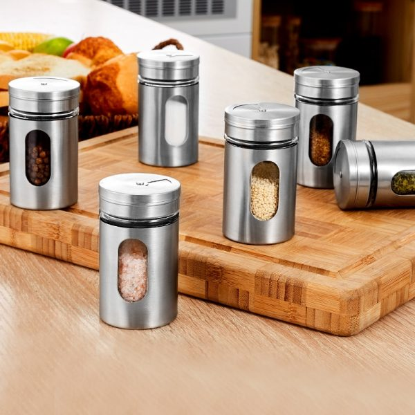 Spice Bottles Stainless Container 2