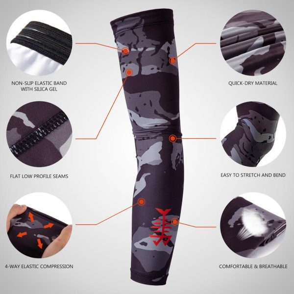 Sport Arm Sleeves Sun Protection Sleeves 1