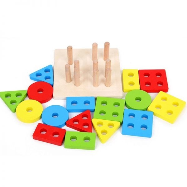 Stacking Shape Toys for Kids 2