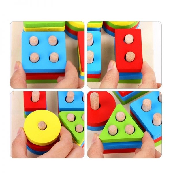 Stacking Shape Toys for Kids 3