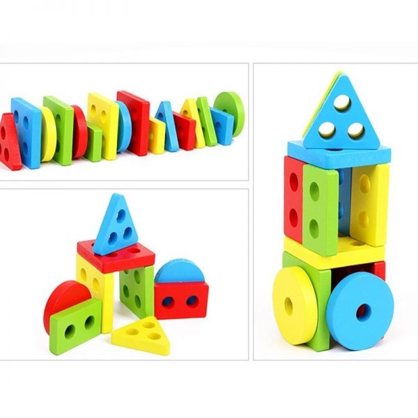 Stacking Shape Toys for Kids 4