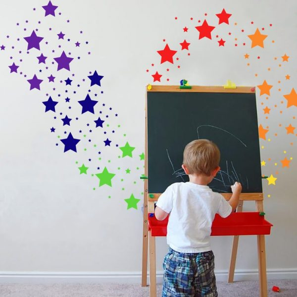 Star Wall Stickers Home Decoration 42 Pcs 2