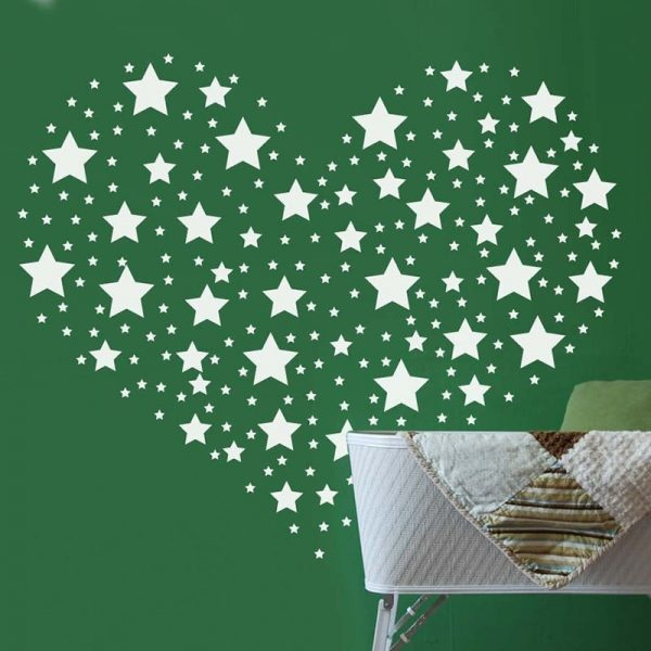 Star Wall Stickers Home Decoration 42 Pcs 3