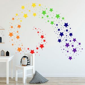 Star Wall Stickers Home Decoration (42 Pcs)