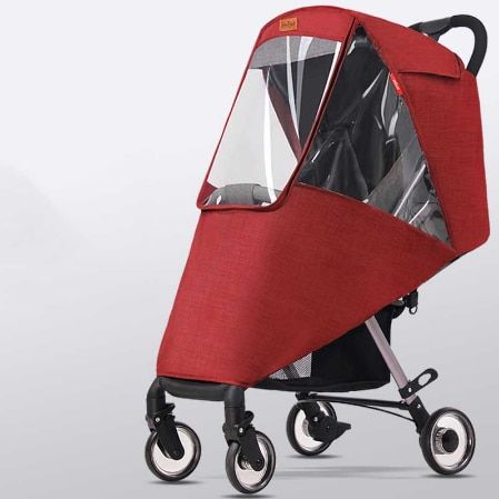 Stroller Cover Wind Dust and Rain Cover 1