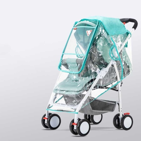Stroller Cover Wind Dust and Rain Cover 2