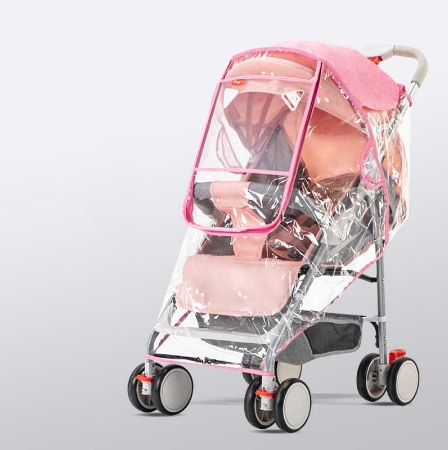 Stroller Cover Wind Dust and Rain Cover 3