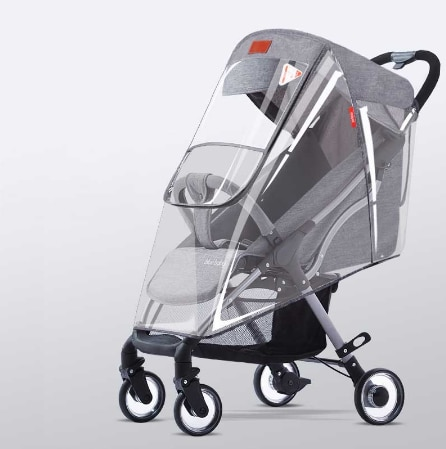 Stroller Cover Wind Dust and Rain Cover 4