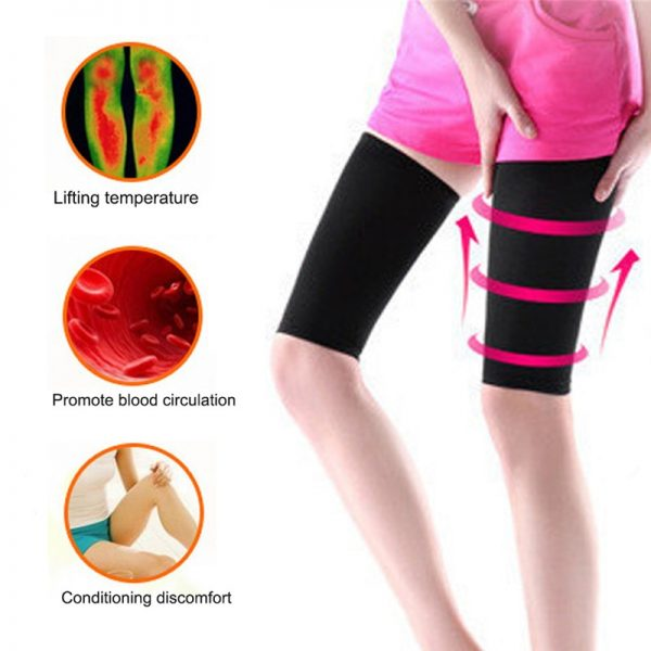 Thigh Compression Sleeve Slimming Wrap 2 pcs 1