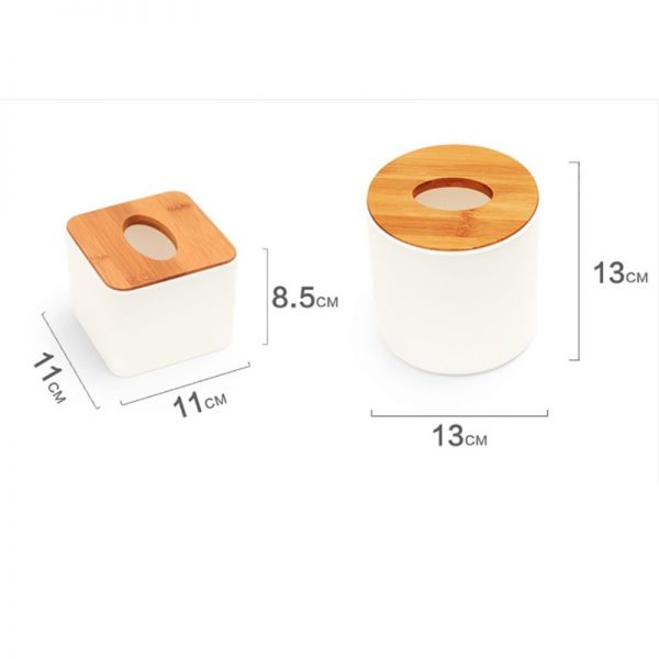Tissue Box With Cellphone Holder 2