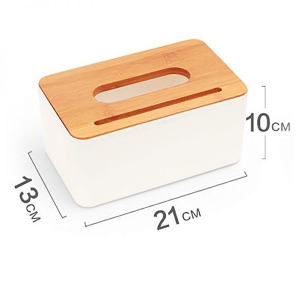 Tissue Box With Cellphone Holder 3