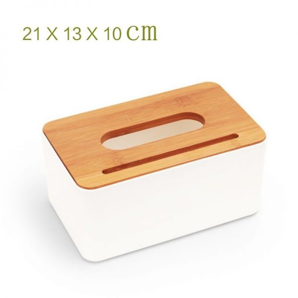 Tissue Box With Cellphone Holder 4