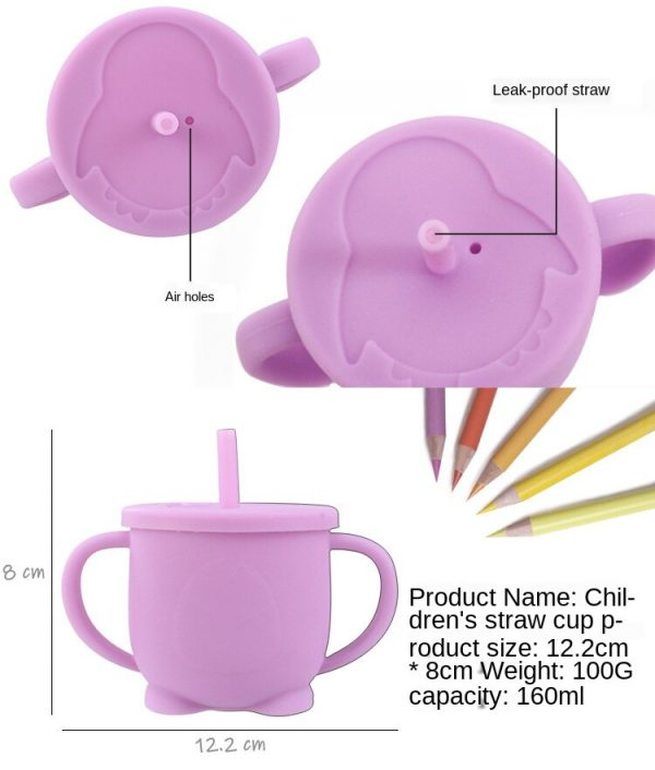 Toddler Drinking Cup Silicone Material 3