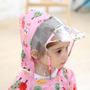 Toddler Raincoat Hooded Overalls