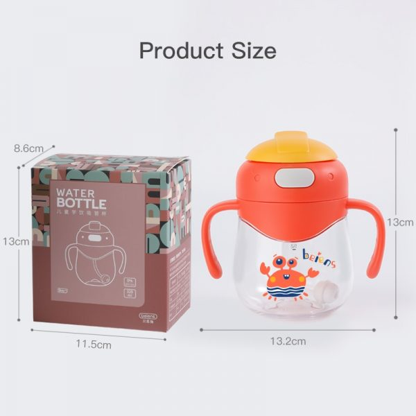 Toddler Sippy Cup With Straw 4