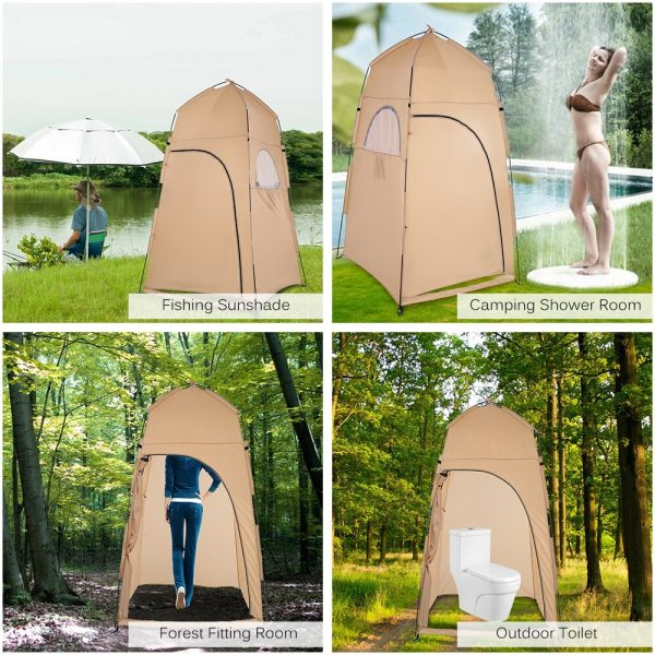Toilet Tent Portable Privacy Shelter 3
