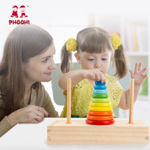 Tower of Hanoi Game Educational Toy