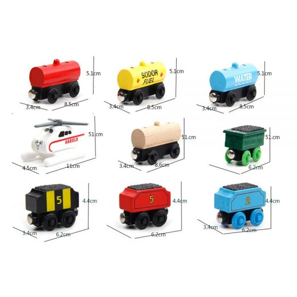 Toy Train Kids Magnetic Toys 2