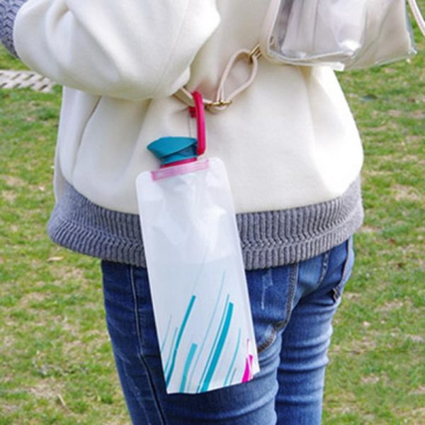 Travel Bottles Collapsible Pouch 2