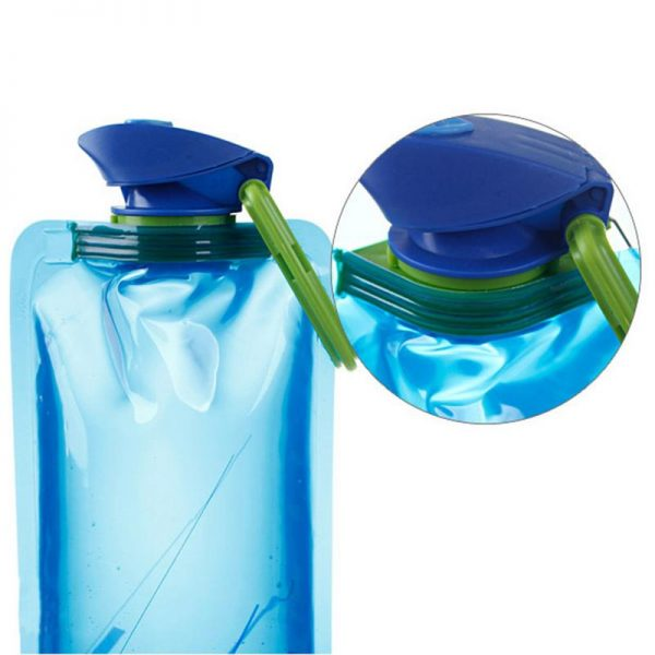 Travel Bottles Collapsible Pouch 3