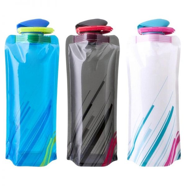 Travel Bottles Collapsible Pouch