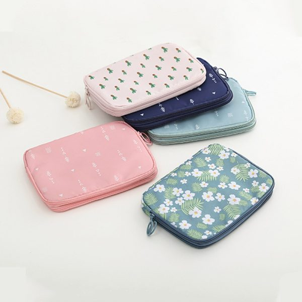 Travel Document Organizer with Card Holders 4