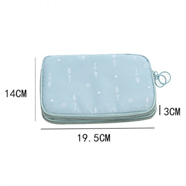 Travel Document Organizer with Card Holders