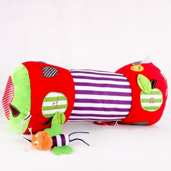 Tummy Time Pillow with Toys 1