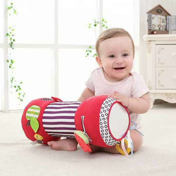 Tummy Time Pillow with Toys