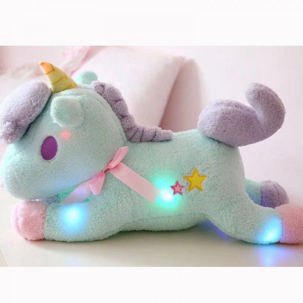 Unicorn Stuffed Toy With Magical Lights 1