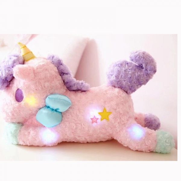 Unicorn Stuffed Toy With Magical Lights 3