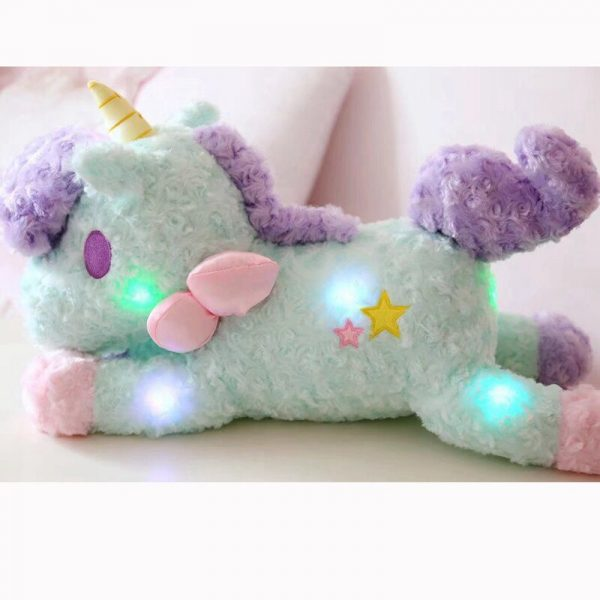 Unicorn Stuffed Toy With Magical Lights 4