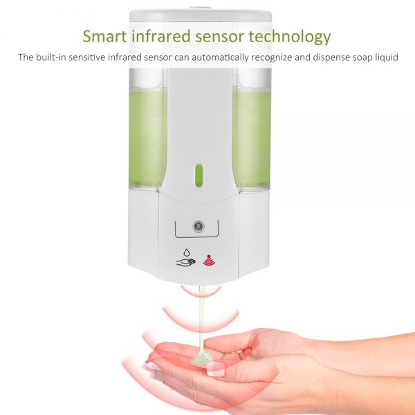 Wall Mounted No Touch Soap Dispenser