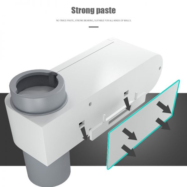 Wall Mounted Toothbrush Holder with UV Light 4