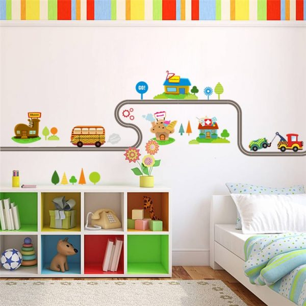 Wall Stickers for Kids Cars Design 1