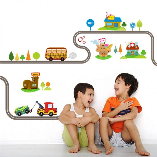 Wall Stickers for Kids Cars Design 2